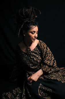 Free Beautiful Woman With Dreadlocks Royalty Free Stock Photography - 9659017