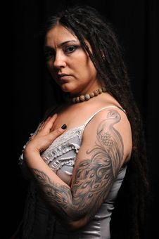 Free Beautiful Woman With Dreadlocks Stock Photo - 9659430