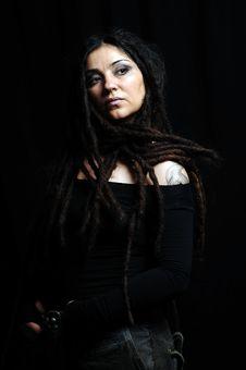 Free Beautiful Woman With Dreadlocks Royalty Free Stock Photo - 9659495