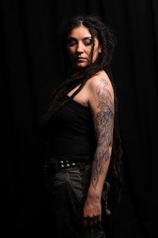 Free Beautiful Woman With Dreadlocks Stock Photo - 9659530