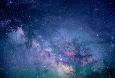 Free Clear Starry Night Photo Royalty Free Stock Photography - 96542527