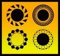 Free Circular Ornamental Designs Royalty Free Stock Photography - 9664487