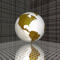 Free 3d Earth Royalty Free Stock Image - 9665176
