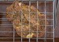 Free Appetizing  Shashlik On Barbecue Royalty Free Stock Photography - 9667547