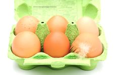 Free Eggs Royalty Free Stock Image - 9661456