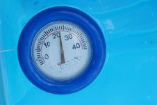 Free Poolthermometer Stock Photography - 9661562