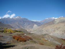 Free Autumn Landscape In Muktinat Region Stock Photos - 9661913