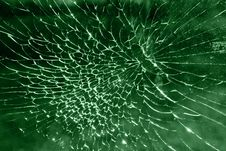 Free Smashed Glass Pattern Royalty Free Stock Images - 9663239