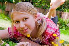 Free Alexa Relaxing Royalty Free Stock Photos - 9663668