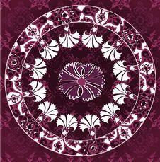 Free Grungy Ottoman Design Stock Image - 9664041