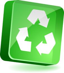 Recycle Icon. Stock Images