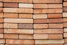 Free Close Up Of Red Bricks Stock Photos - 9664563