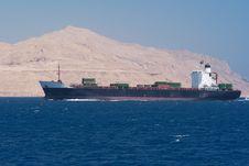 Free Cargo Ship Royalty Free Stock Photos - 9664618