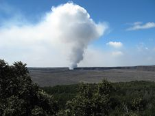 Free Volcano Eruption Stock Image - 9664721