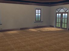 Free 3D Render Of Empty Great Room Stock Images - 9664944