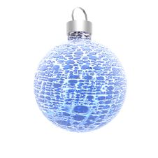 Free Christmas Ball Isolated On A White Stock Photo - 9665050