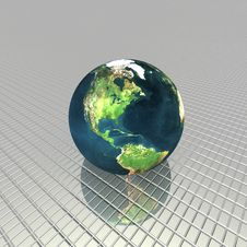Free 3D Globe Royalty Free Stock Photos - 9665148