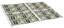 Free Paper With Us Dollar Notes Stock Photos - 9665413