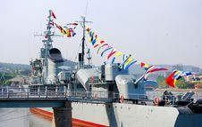 Free Military Ship Stock Photo - 9666110