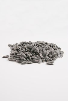 Free Sunflower Seeds Royalty Free Stock Photography - 9666567
