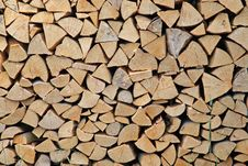 Free Firewood Royalty Free Stock Photos - 9667738