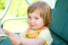 Free Baby In Garden Stock Photos - 9667983