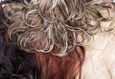 Free Hair Texture Royalty Free Stock Images - 9668309