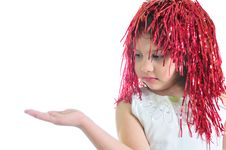 Free Little Girl In Periwig (dream) Royalty Free Stock Photography - 9668947