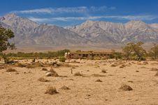 Free Manzanar Relocation Center Stock Photography - 9669862