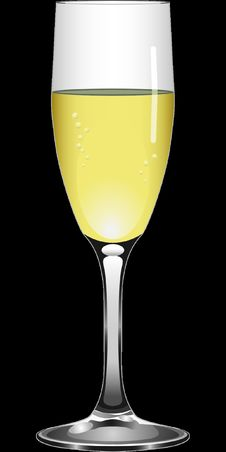 Free Champagne Stemware, Beer Glass, Wine Glass, Yellow Royalty Free Stock Image - 96663026