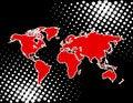 Free World Map Stock Photo - 9676840