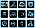 Free Vector Web Icons Set – Hardware Royalty Free Stock Photography - 9678417