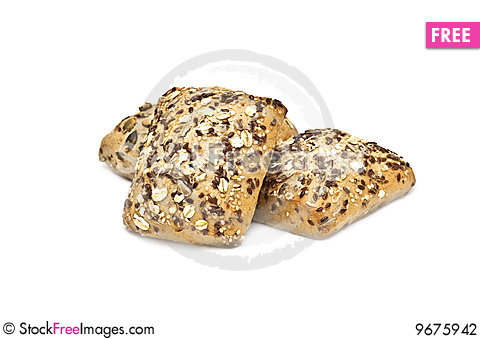 Free Healthy Bread With Seeds On Stock Photography - 9675942