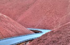 Free Painted Hills Boardwalk Royalty Free Stock Images - 9670569