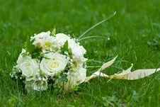 Free Bouquet On Green Grass Royalty Free Stock Images - 9670839