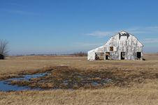 Free Rusitic Barn In Rural Tennessee Royalty Free Stock Image - 9671536