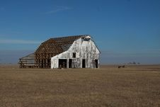 Rusitic Barn In Rural Tennessee Stock Images