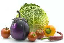 Free Bright Vegetables Royalty Free Stock Photography - 9671957