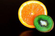 Free Orange And Kiwi Stock Photos - 9672023