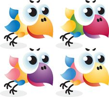 Free Baby Birds Royalty Free Stock Images - 9672089