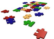 Free Puzzle Royalty Free Stock Photography - 9672327
