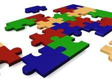 Free Puzzle Royalty Free Stock Photography - 9672337
