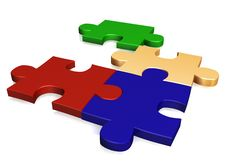 Free Puzzle Royalty Free Stock Photo - 9672345