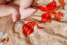 Free Feet Iof The Child Stock Photography - 9672622