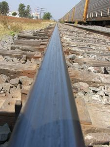 Free Train Track Stock Image - 9674021