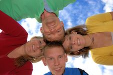 Free Family Circle Stock Photo - 9675080