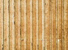 Corrugated Metal Sheet. Stock Image
