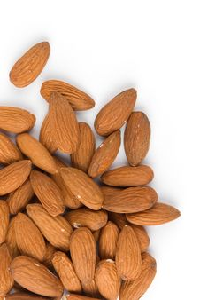 Free Pile Of Almonds Royalty Free Stock Photography - 9675817