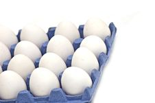 Free Eggs In Box Stock Image - 9675921