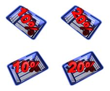 Free Shopping Basket Stock Photo - 9677250